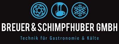 Breuer & Schimpfhuber GmbH | Technik für Gastronomie und Kälte aus OÖ! | Kälte- & Klimatechnik aus Bad Hall | Kühl- und Tiefkühlzellen, Kühlmöbel, Energieoptimierung, Gastrotechnik, Kaffee- und Spülmaschinen, Eiswürfler, Wasserfilter
